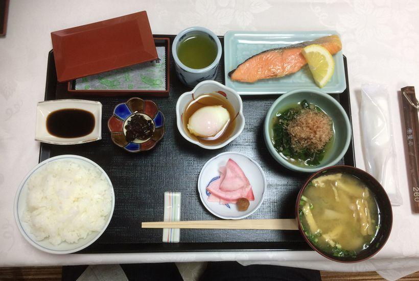 Breakfast at the Hotel Akishatei