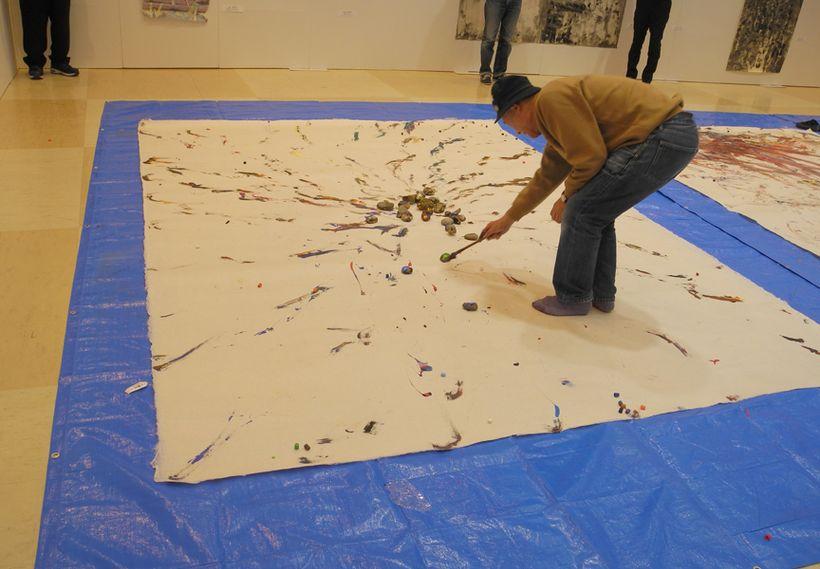 Sadaharu Horio performance art
