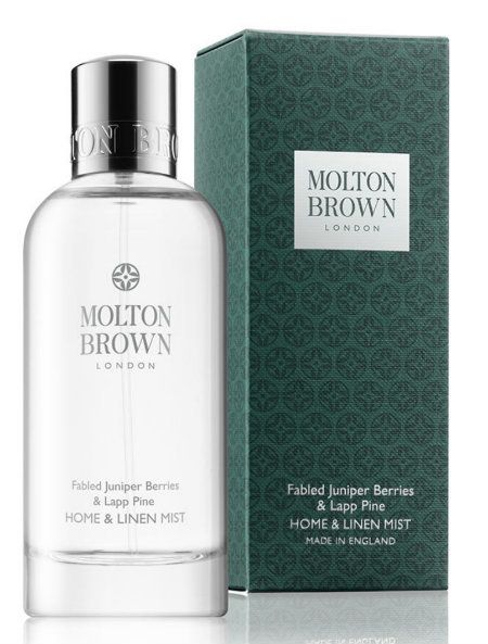 "<strong>Fabled Juniper Berries &amp; Lapp Pine Home &amp; Linen Mist</strong> from <a rel=""nofollow"" href=""https://www.molton"