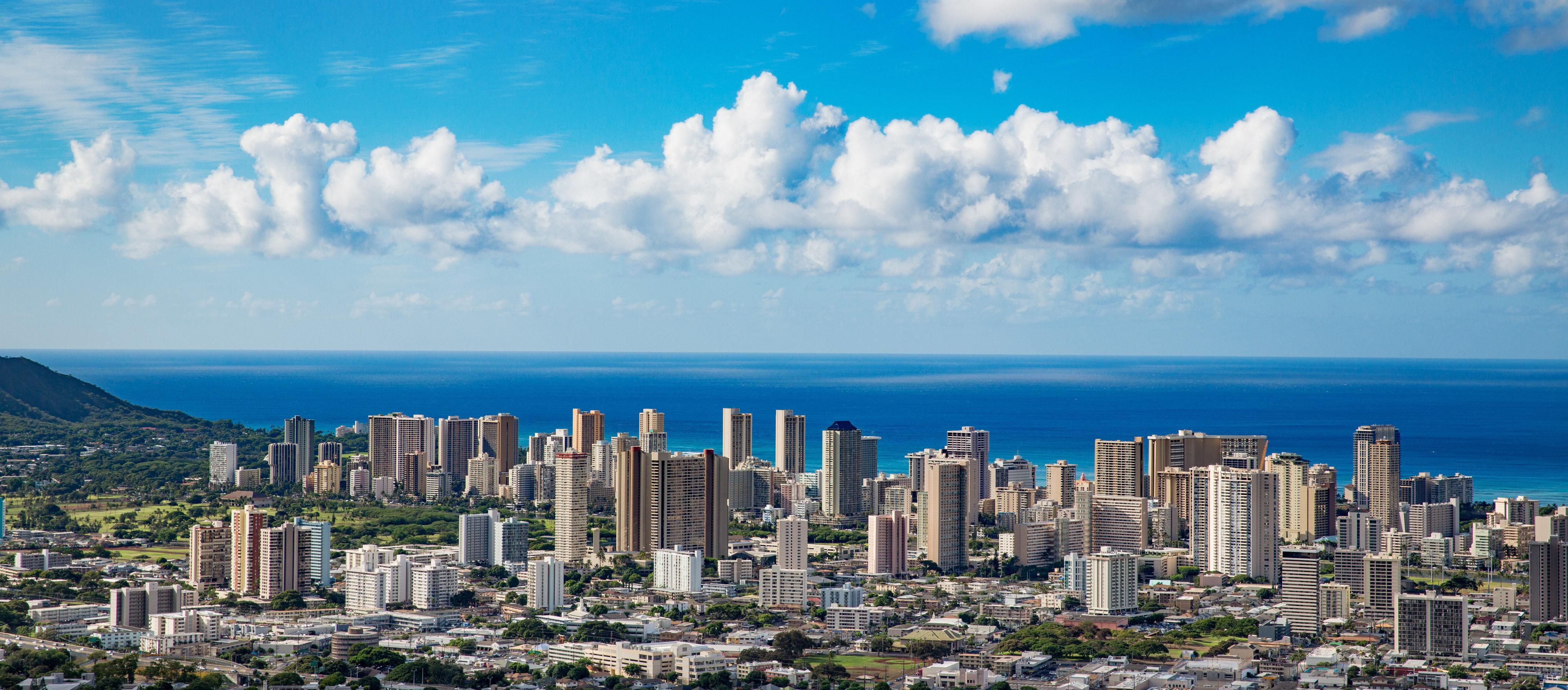 Aerial view of the Honolulu skyline. & Hawaii Developer Under Fire For Segregated \u0027Poor Door\u0027 For Renters ...