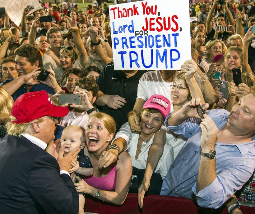 Without white evangelical enthusiasm, Trump could not have won.