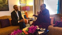 Dalai Lama Meets 'Old Trusted Friend' Barack Obama In India To Discuss World