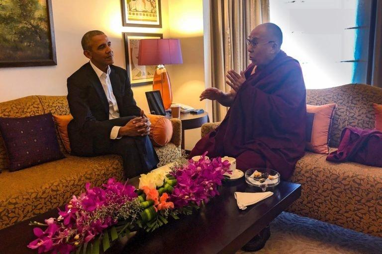 Dalai Lama Meets 'Old Trusted Friend' Barack Obama In India To Discuss World Peace