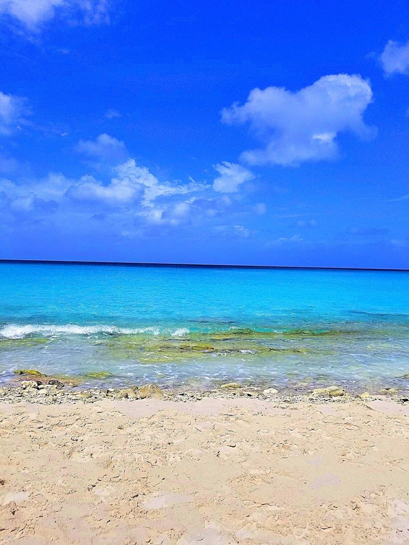 The cool blue waters are a highlight of the beaches of Curaçao.