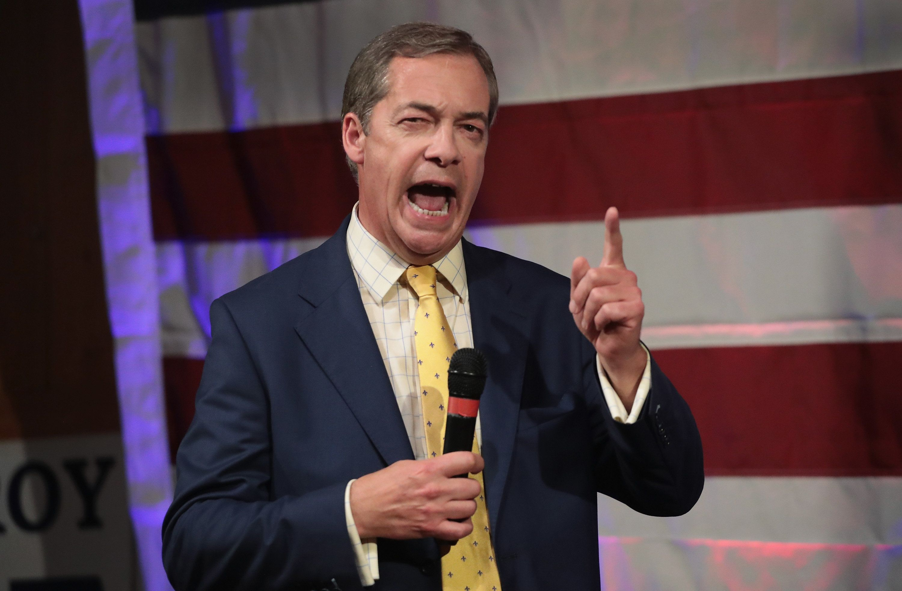 Nigel Farage Claims Donald Trump Had No Idea Who Britain First Were When He Retweeted