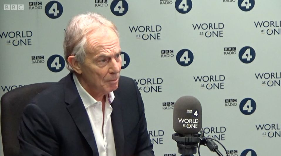 Tony Blair Says He's Working To Reverse Brexit: 'It's Not Done Until It's