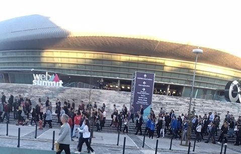 WebSummit 2017 in Lisbon, Portugal November 5-8 attracted 60,000 tech fans.