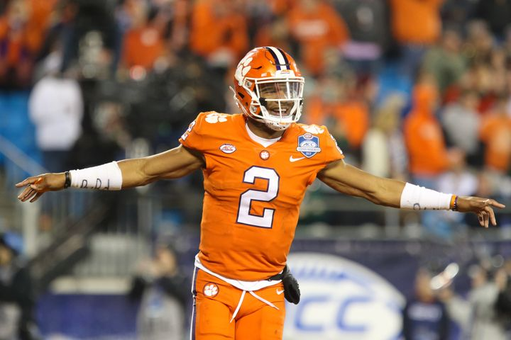 Clemson quarterback Kelly Bryant will try to lead his school to a second national title next month.