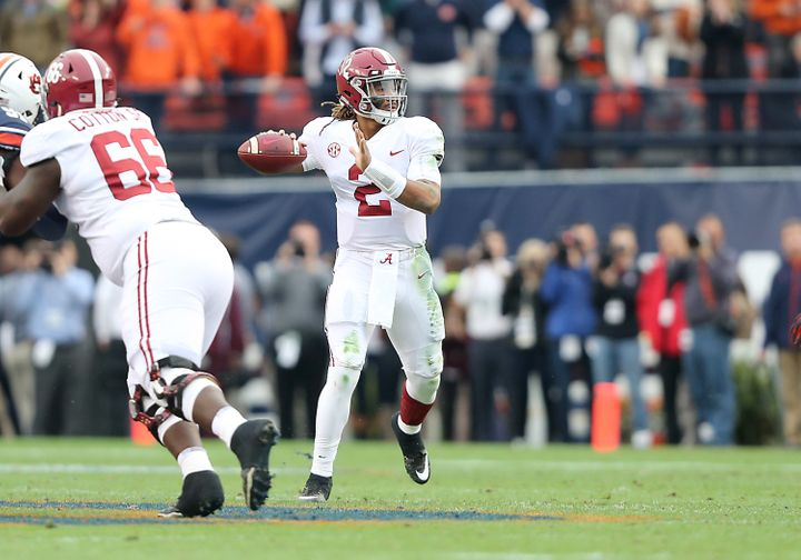 Alabama's hopes for a second national title in three years will rest partially on the play of quarterback Jalen Hurts.