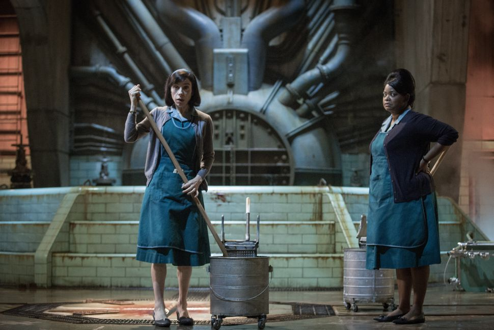 """Guillermo del Toro, first and foremost a creature-feature whiz kid, betrays his sensitive side with """"The Shape of Water,"""" a s"""