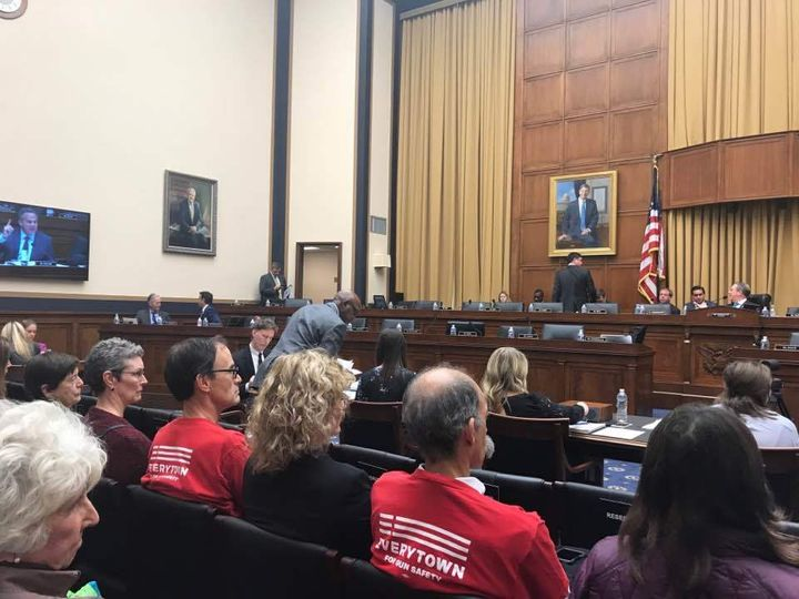 In lieu of a hearing, the House Judiciary Committee marked up the bill on November 29th, and rejected multiple proposed amend