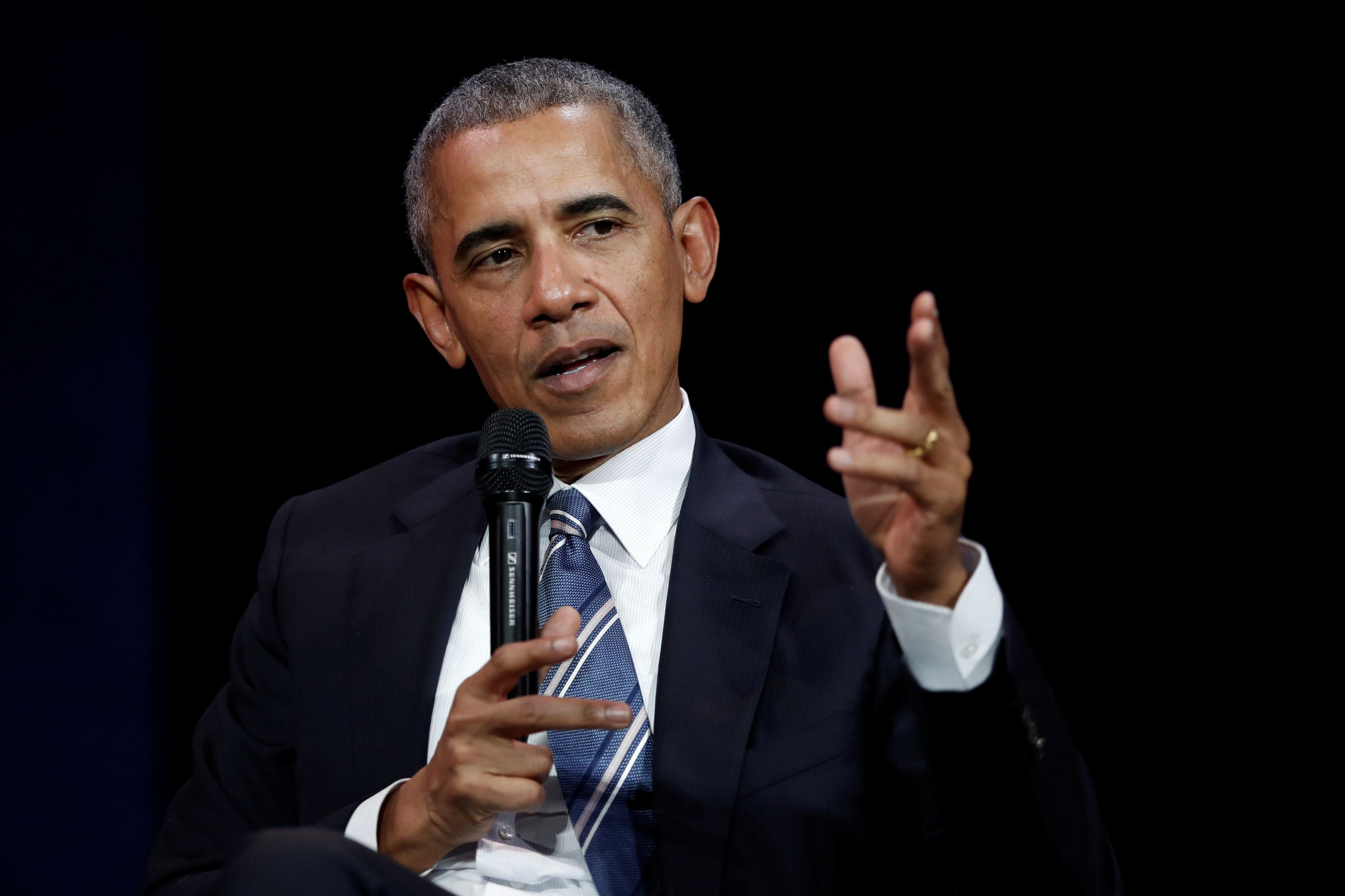 Obama: Elect More Women 'Because Men Seem To Be Having Some Problems These