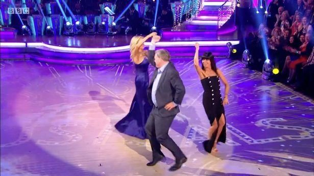 Tess Daly and Claudia Winkleman joined Ed Balls for a 'Gangnam Style'