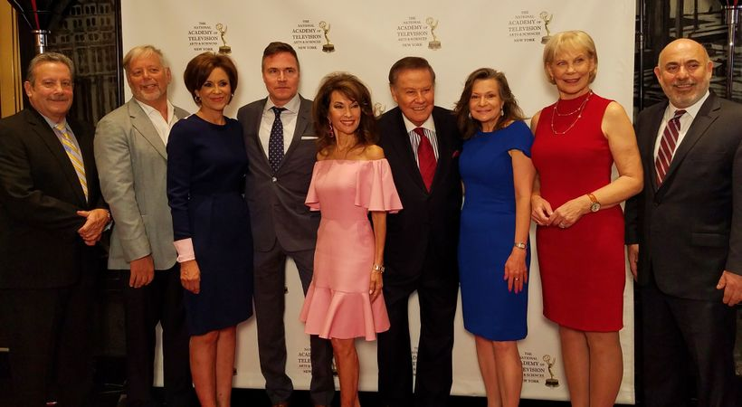 Andy DeSantis, Pat Dolan, Dana Tyler, Bruce E. Brauer, Susan Lucci, Marvin Scott, Denise Rover, Mary Alice Williams, and Este