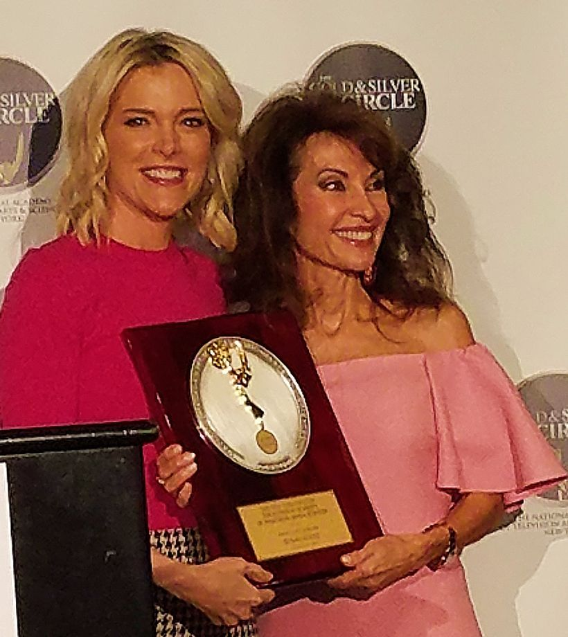 Megyn Kelly and Susan Lucci