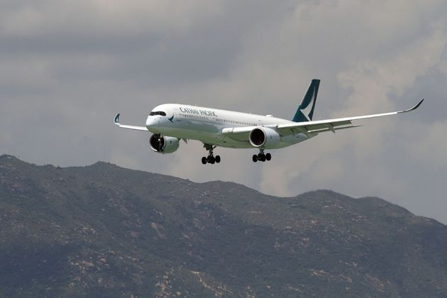 Cathay Pacific staff were travelling over Japan when they believed they saw the 're-entry of the recent...
