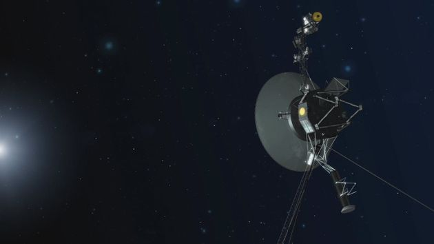 NASA Voyager thrusts for first time