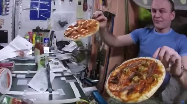 NASA Tried To Have A Pizza Night In Space, Did Not Go To