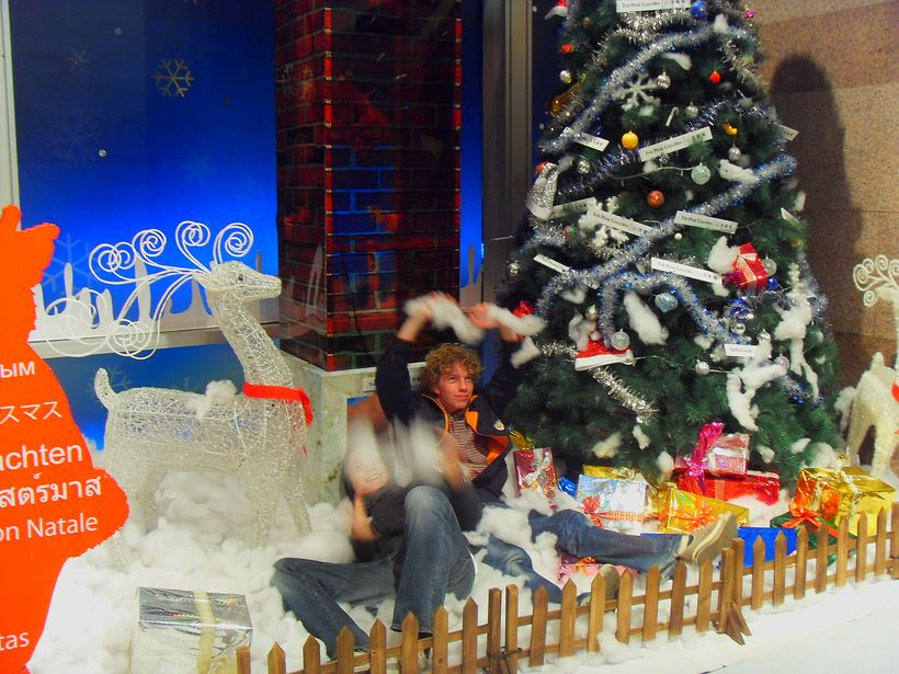 Niels, CEO of HousingAnywhere.com celebrating Christmas in Hong Kong.