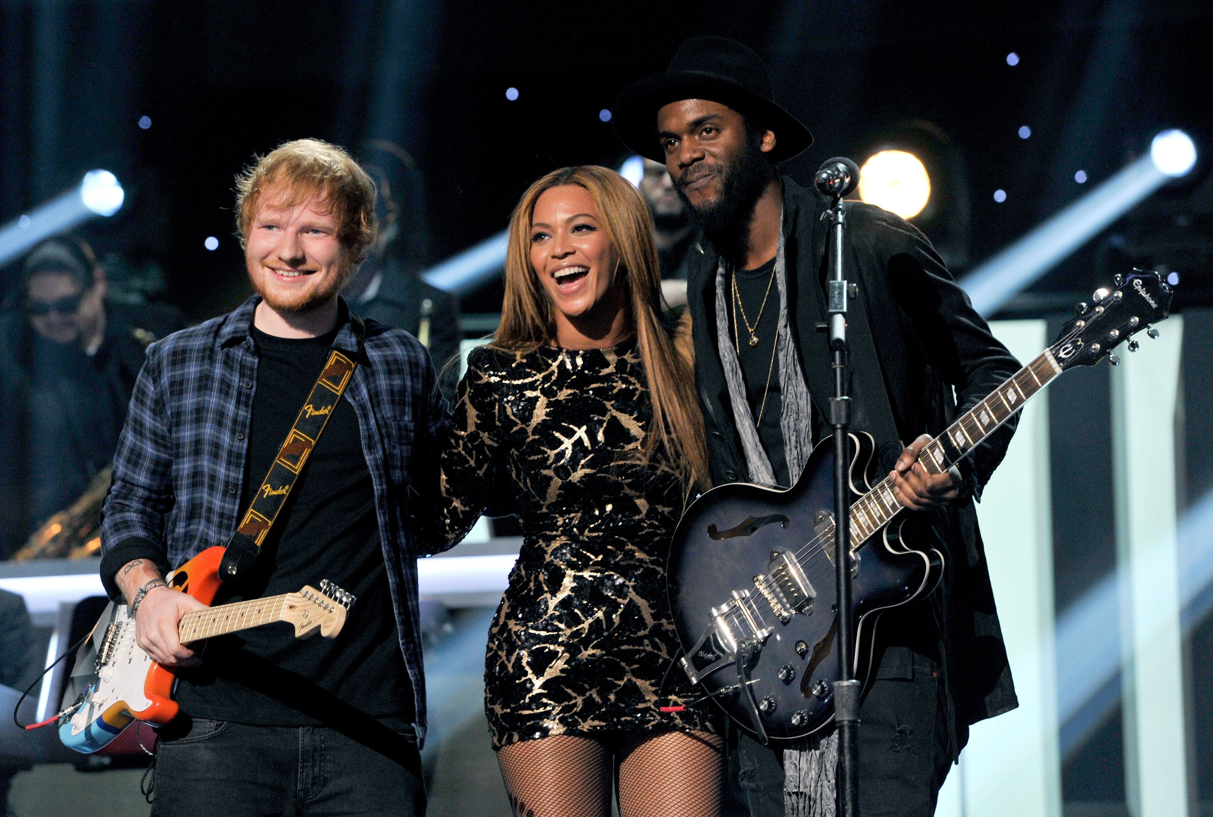 Ed Sheeran in disbelief over new Beyonce collaboration