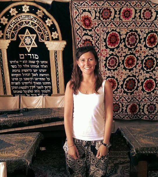 Synagogue in Bukhara,