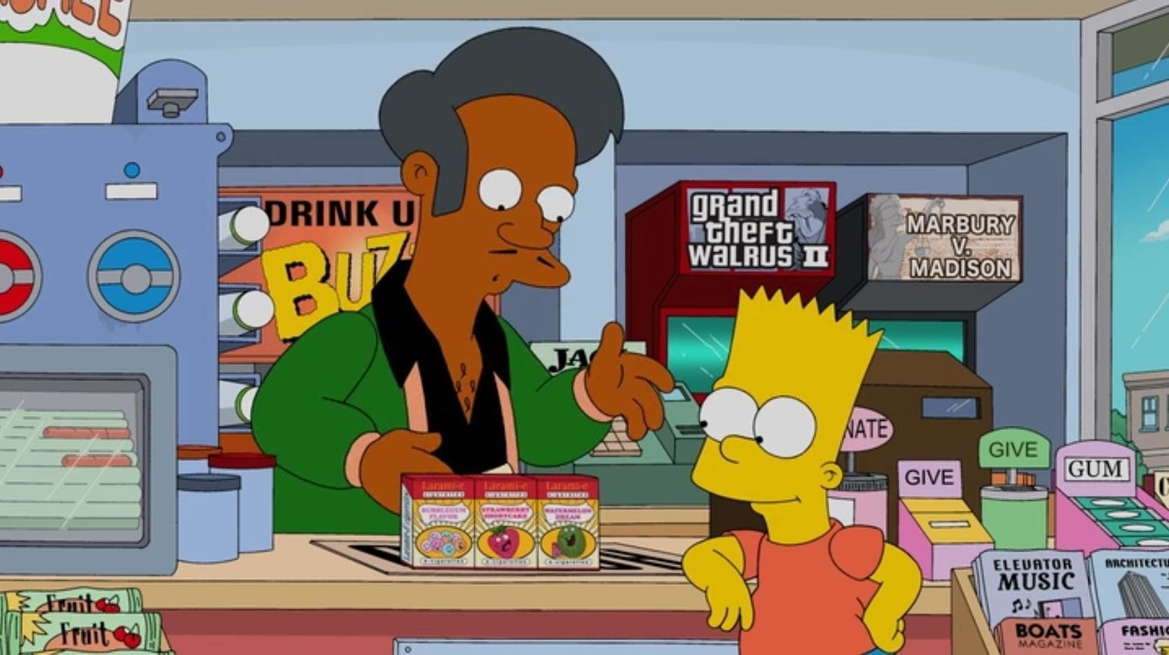 'The Simpsons' Jabs Back At Apu Stereotype Claims In New Episode