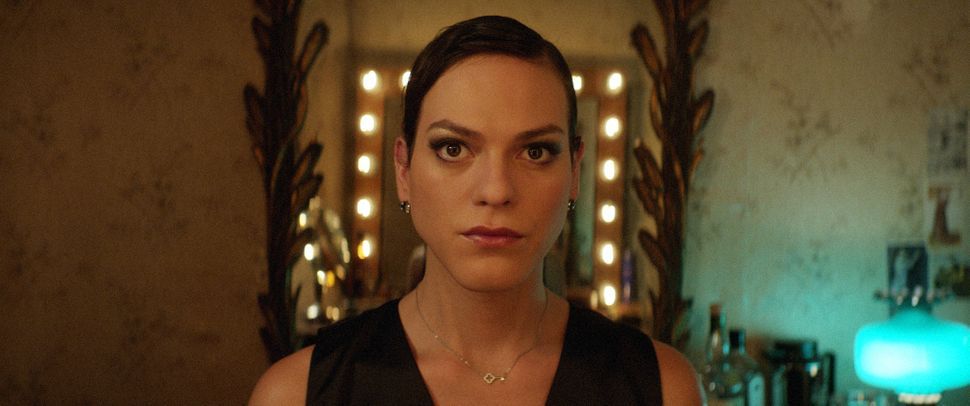 "On a particularly blustery day, the heroine of ""A Fantastic Woman"" treks through a windstorm so powerful she can hardly"