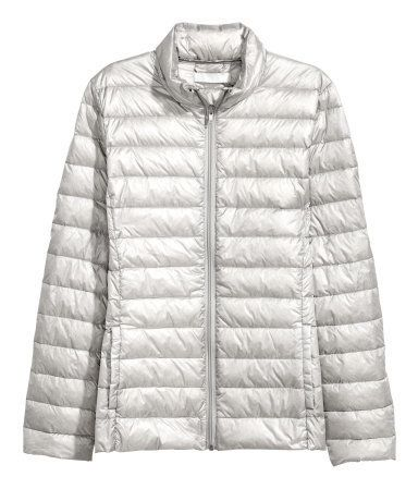 """Look for a fitted silhouette when searching for the perfect puffer that won't add bulk. <a href=""""http://www.hm.com/us/product"""
