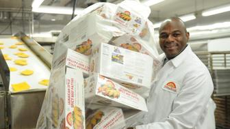 Lowell Hawthorne, who started the Golden Krust Caribbean Bakery with a Bronx storefront, now manufactures his meat patties at a Bronx production facility at 3958 Park Ave. (Photo By: David Handschuh/NY Daily News via Getty Images)