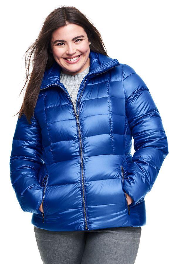 "Featherlight and bulk-free, <a href=""https://www.landsend.com/products/womens-lightweight-down-jacket/id_314660_57?sku_0=::BL"