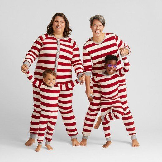 """Get the collection <a href=""""https://www.target.com/p/burt-s-bees-baby-153-organic-cotton-striped-family-pajamas-collection/-/"""