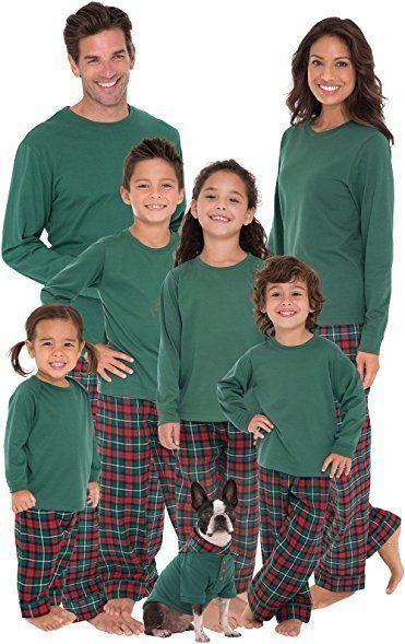 matching plaid flannel christmas pajamas - Plaid Christmas Pajamas