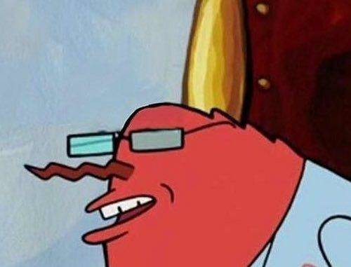Image result for wack mr krabs