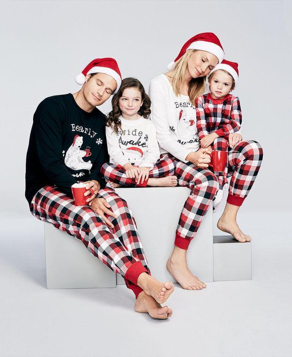 "Get the collection <a href=""https://www.macys.com/shop/product/family-pajamas-buffalo-plaid-bearly-awake-pajamas-created-for-"