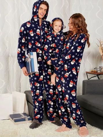 """Get the collection <a href=""""https://www.rosegal.com/pajamas/santa-claus-pattern-matching-family-christmas-pajama-sets-1515643"""