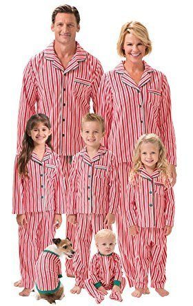"Get the collection <a href=""https://www.amazon.com/PajamaGram-Fleece-Matching-Family-Pajamas/dp/B00QVOJR12/ref=sr_1_85?amp=&i"