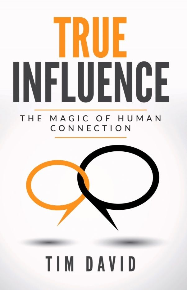 """<a rel=""""nofollow"""" href=""""http://www.TrueInfluenceBook.com"""" target=""""_blank"""">TRUE Influence: The Magic of Human Connection</a>"""
