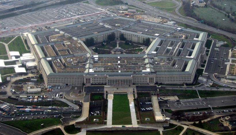 The Pentagon, located in Washington, DC.