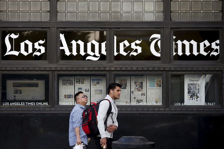 Los Angeles Times Picture