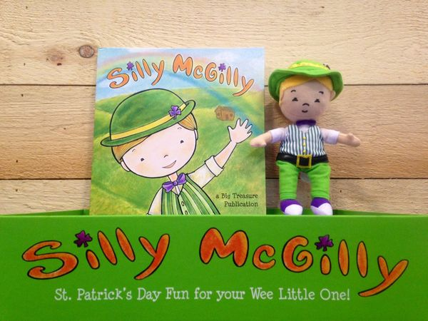 """<a href=""""http://www.sillymcgilly.com/"""">Silly McGilly</a>is a cute leprechaun who visits homes and classrooms to play li"""