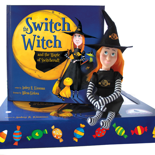 """Author Audrey Kinsman wrote <i><a href=""""http://switchwitches.com/"""" target=""""_blank"""">The Switch Witch and the Magic of Switchcr"""