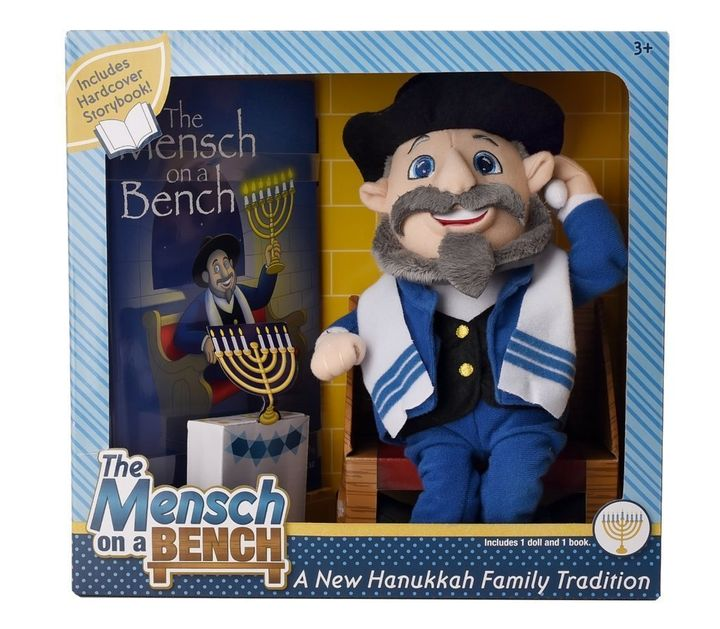 The Elf on the Shelf tradition has inspired many spin-offs, like The Mensch on a Bench.