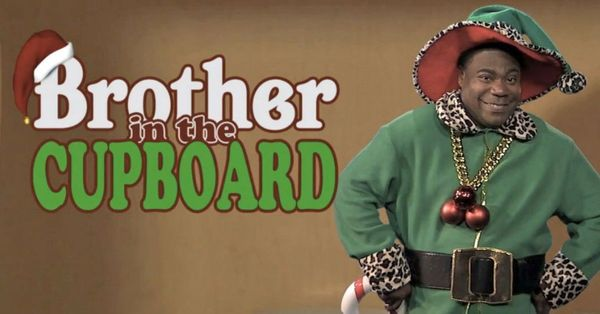 """Tracy Morganparodied The Elf on the Shelf on """"Jimmy Kimmel Live!"""" in 2013 with <a href=""""http://mashable.com/2013/11/22/"""