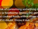 Tufts' Nutrition Experts Answer Your Questions on Food Safety in Meal Preparation & Leftovers