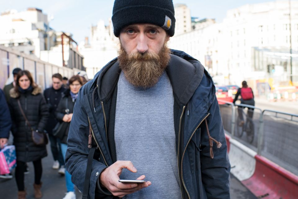 Haunting Photos Of Zombie-Like Londoners Remind Us To Take A Break From Our