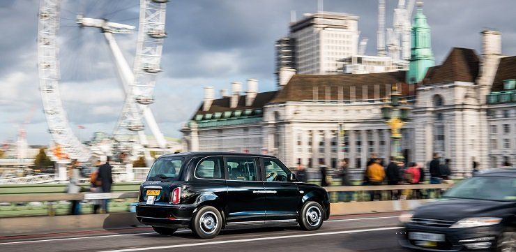 Electric Black Cabs Are Available In London From