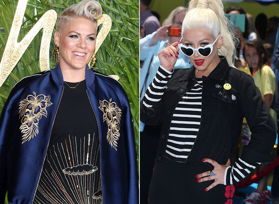 Pink's Latest Revelation Proves Her Feud With Christina Aguilera Is Long In The