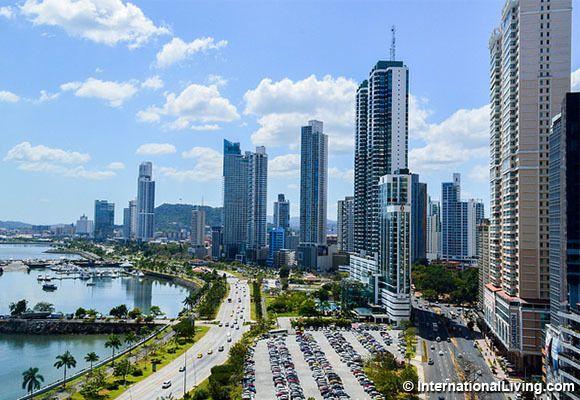Cinta Costera, Panama City, Panama.
