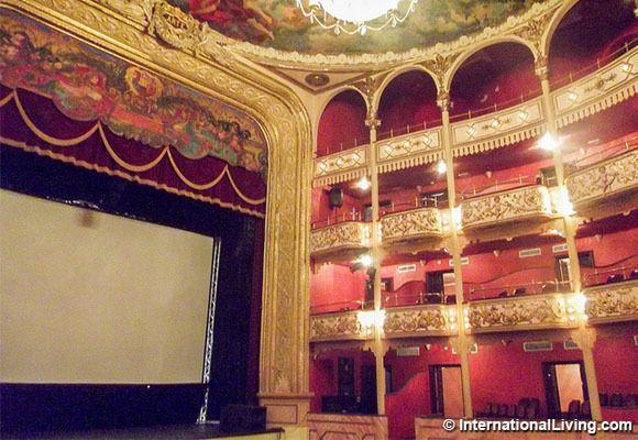 National Theater, Casco Viejo, Panama.
