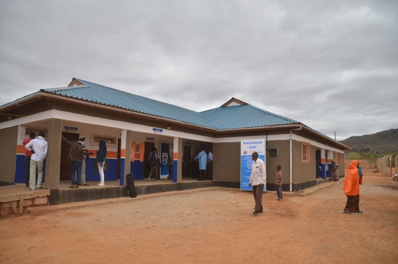 Philips' Mandera, Kenya Community Life Center brings healthcare access as well as a community center for socializing and econ